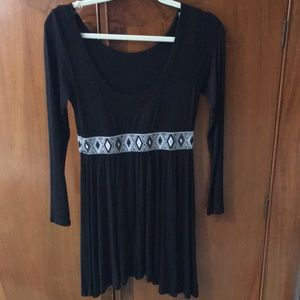 Black tunic but could be worn as dress